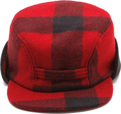 Filson Mackinaw Cap In Red For Men Red Black Lyst