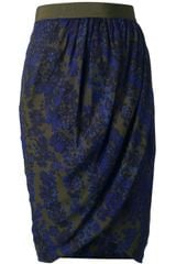 Giambattista Valli Draped Skirt - Lyst