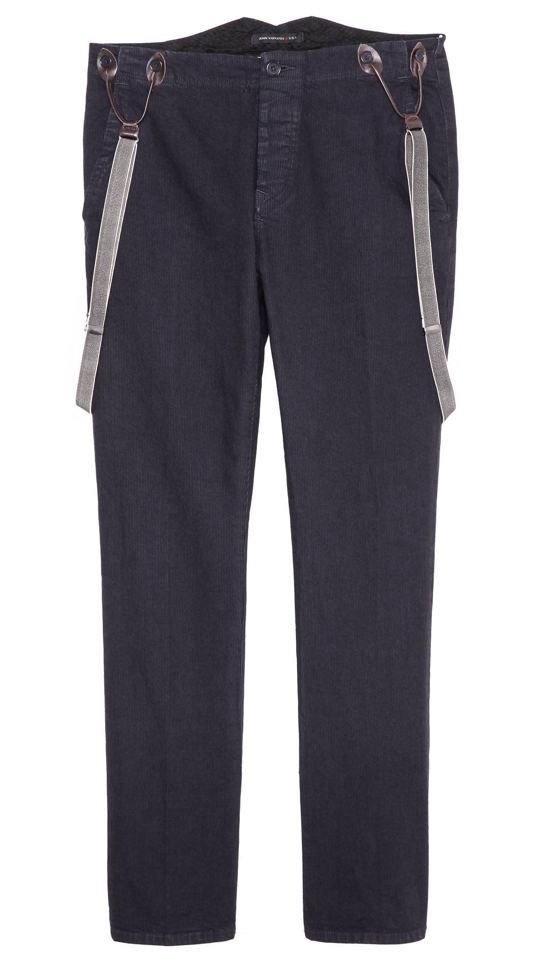 Suspender Button Pants