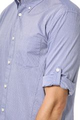 John Varvatos Roll Sleeve Shirt  - Lyst