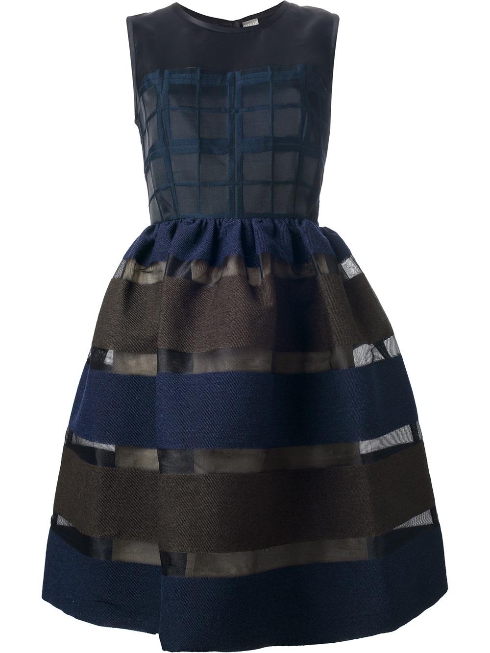 Lyst Mantu Sleeveless Dress In Brown