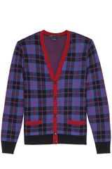 Marc By Marc Jacobs Aimee Plaid Button Cardigan - Lyst