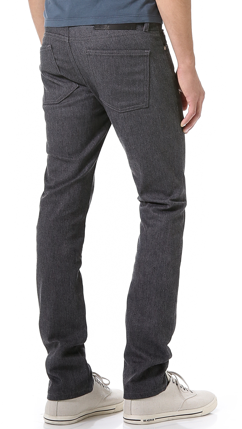Lyst - Naked  Famous Skinny Stretch Jeans In Gray For Men-3913