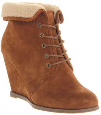 Office Borderline Wedge Ankle Boots - Lyst
