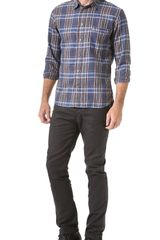Paul Smith Plaid Shirt - Lyst