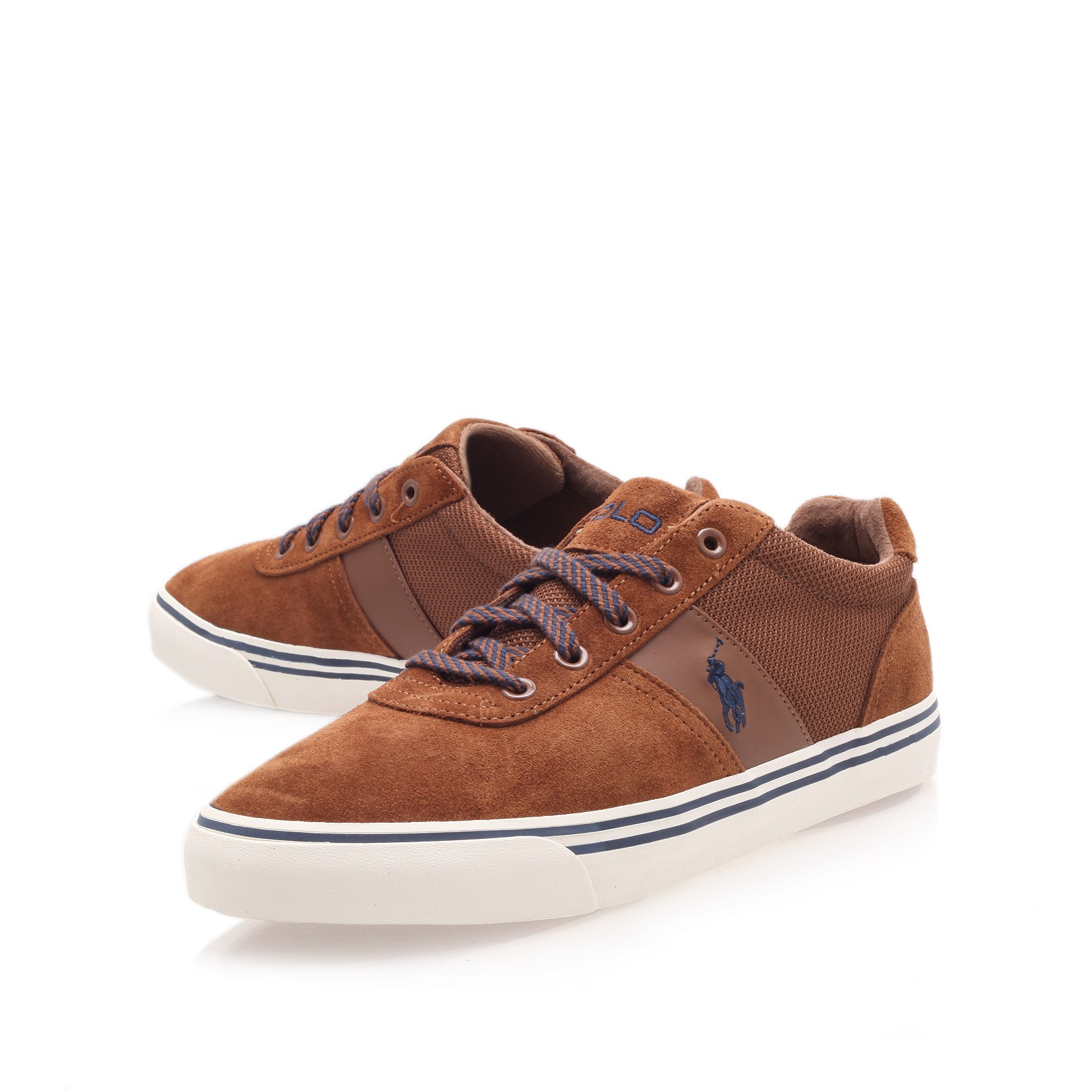 88a3dca9f09 Polo Ralph Lauren Hanford Suede Sneaker in Brown for Men - Lyst