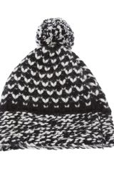 Stella McCartney Pom Pom Hat - Lyst