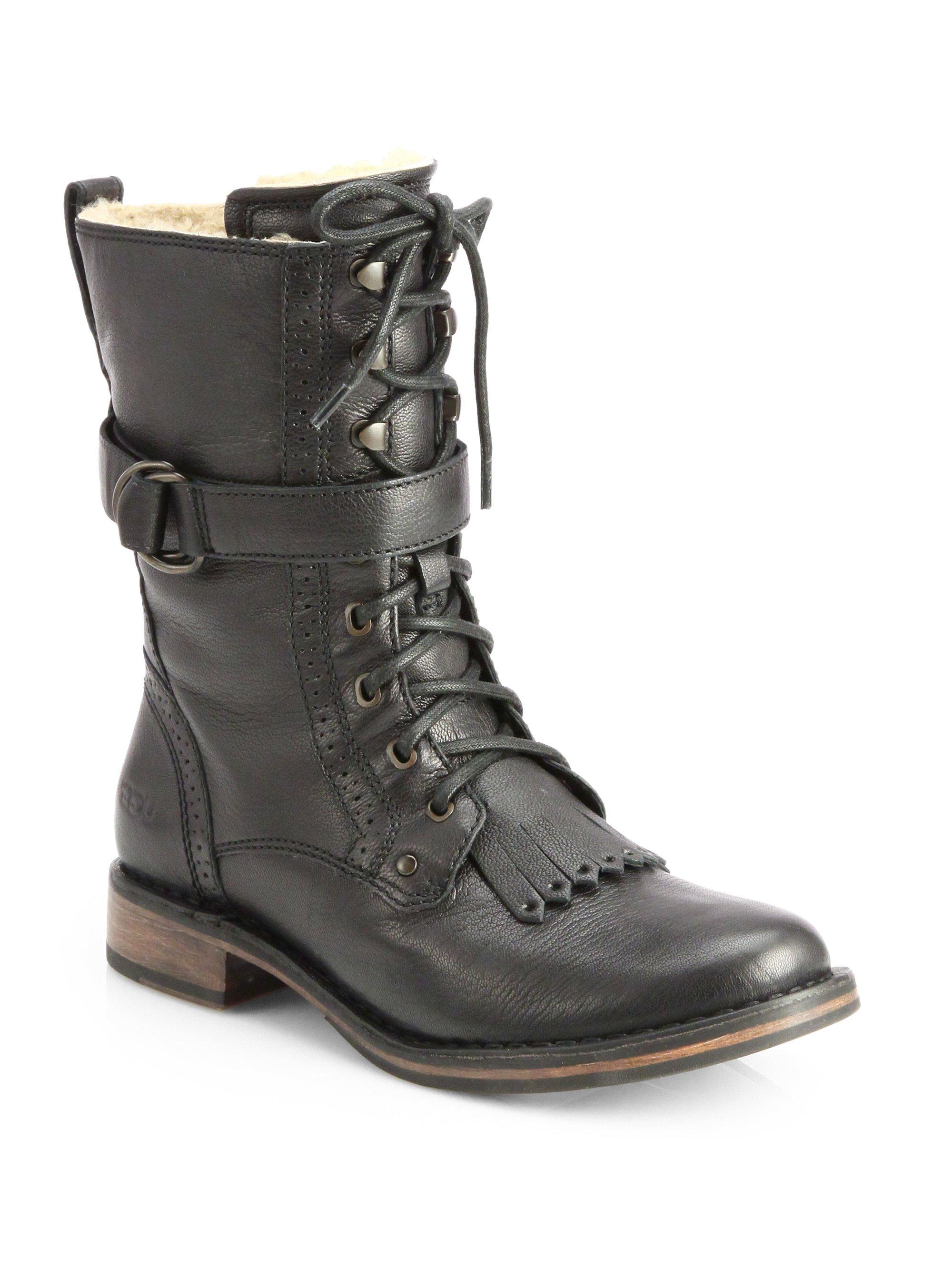 UGG Jena Leather Laceu...
