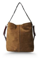 Vanessa Bruno Athé Large Leather Bag - Lyst