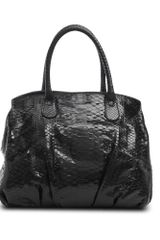 Zagliani Passage Bag in Shiny Python - Lyst