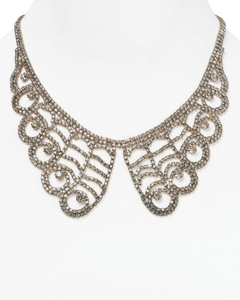 Cara Accessories Lace Collar Necklace 16 - Lyst