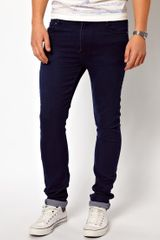 Cheap Monday Jeans Tight Skinny Fit in Blue - Lyst