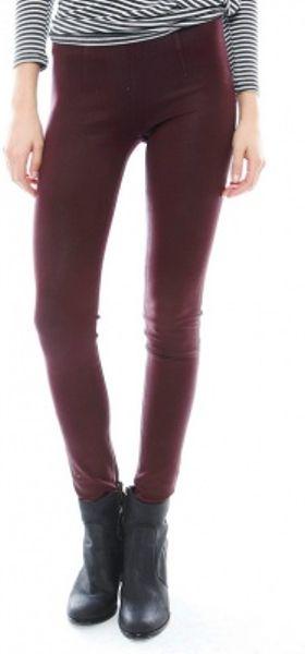 Sold Design Lab Soho Super Skinny Coated Pull On Legging