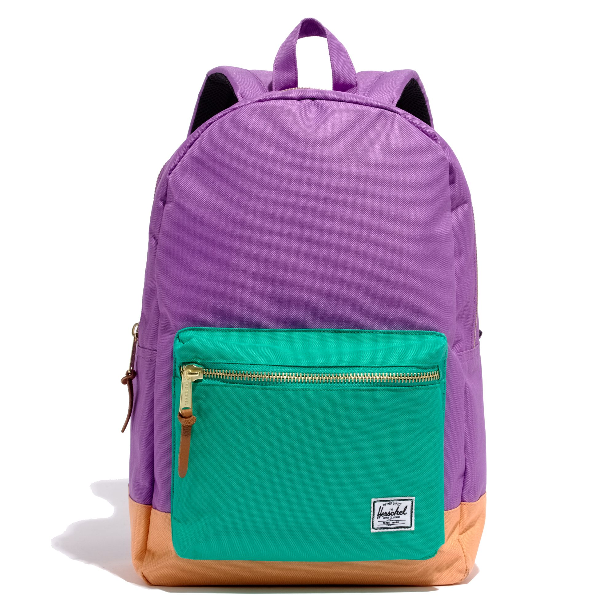 Lyst - Madewell Herschel Supply Coreg X Colorblock Backpack in Purple b0e488399bb18