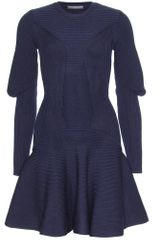 Alexander McQueen Knit Dress - Lyst