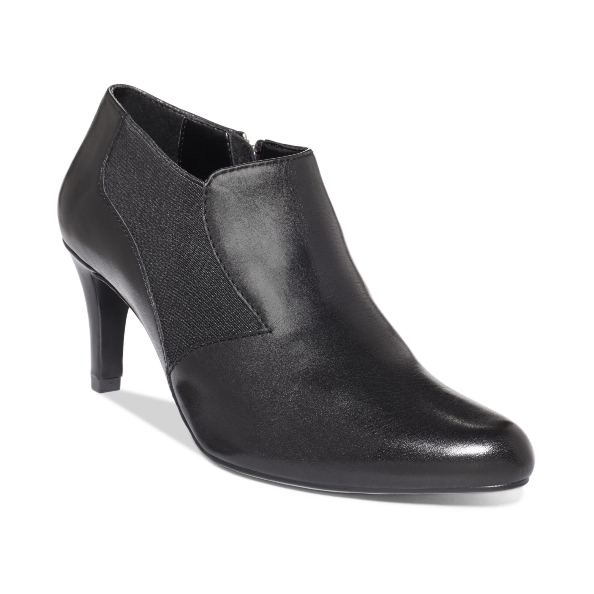 Nada Mobile App >> Lyst - Ellen Tracy Carlton Dress Booties in Black