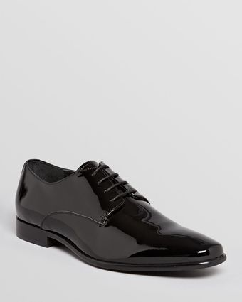 Gordon Rush Manning Patent Leather Dress Oxfords - Lyst