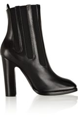 Alaïa Leather Ankle Boots - Lyst