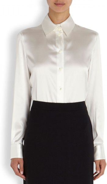 Best White Silk Blouse 112