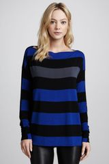 Bailey 44 Striped Jersey Top - Lyst