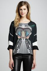 Clover Canyon Accordion Dance Printed Top - Lyst