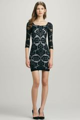 Free People Fitted Medallion Lace Dress - Lyst