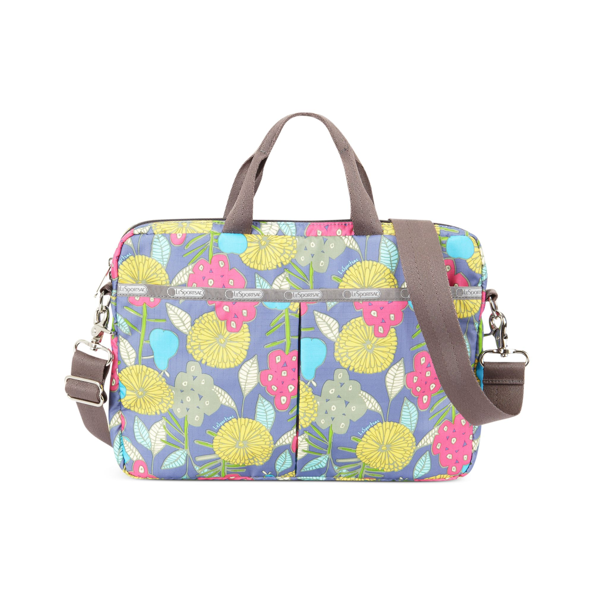 lesportsac laptop bag in multicolor tilly lyst