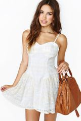 Nasty Gal Sweet Harmony Lace Dress - Lyst