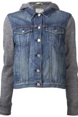 Rag & Bone Hooded Jean Jacket - Lyst