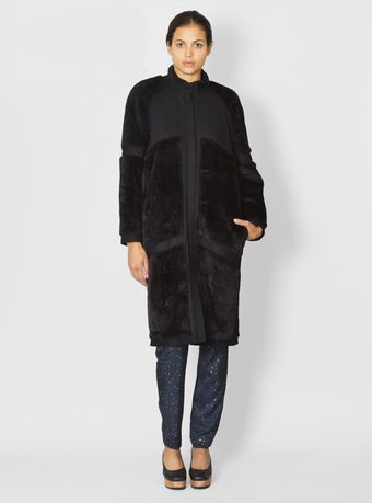 Stine Goya Surreal Coat - Lyst
