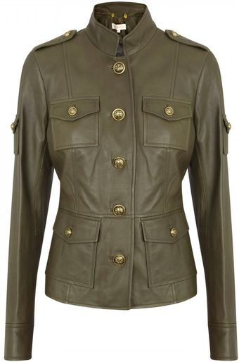 Tory Burch Pepper Leather Jacket - Lyst