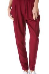 3.1 Phillip Lim Draped Pocket Trousers - Lyst
