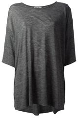 Acne Over Sized Tshirt - Lyst