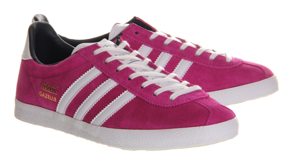 100% authentic 616b7 a0530 adidas gazelle hot pink