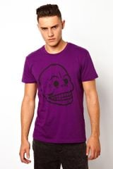 Cheap Monday Tshirt with Bruce Print - Lyst