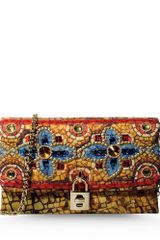 Dolce & Gabbana Medium Fabric Bag - Lyst