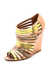 Edmundo Castillo Uma Strappy Wedge Sandals - Lyst