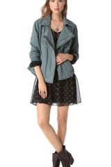 Free People Rumpled Linen Jacket - Lyst