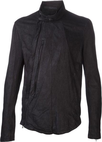 Julius Fencing Jacket In Black For Men Lyst