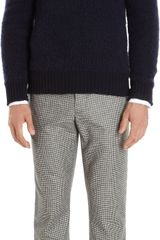 Michael Bastian Boucle Knit Button Shoulder Sweater - Lyst