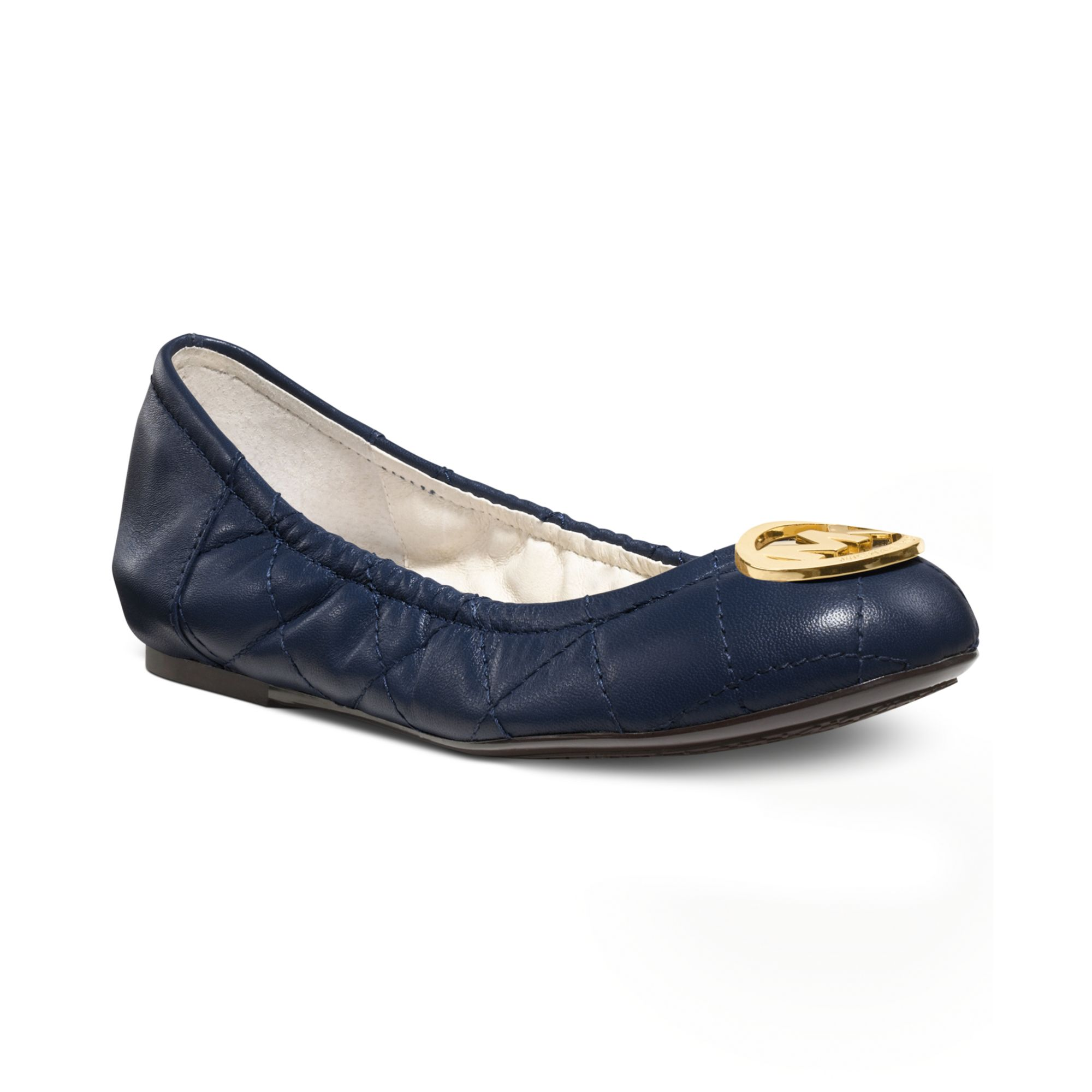 Michael Kors Shoes Fulton Quilted Ballet Flats