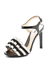 Moschino Bow Detail Sandals - Lyst