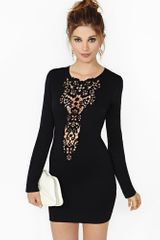 Nasty Gal Dream Springs Dress Black - Lyst