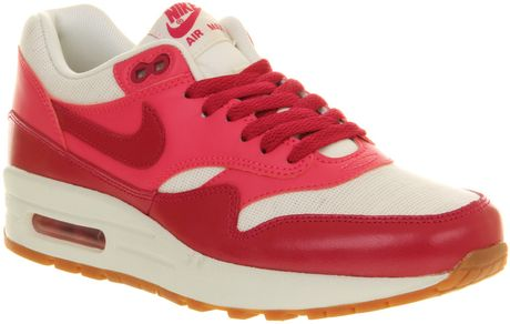 Nike Air Max 1 L in Red (fuschia) - Lyst