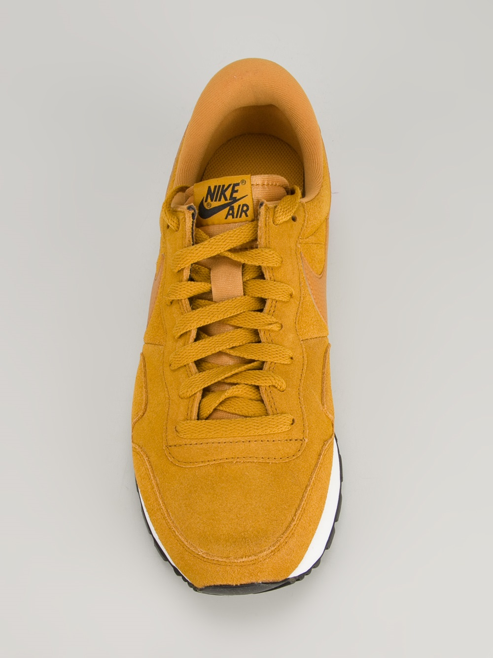 af6053e14dca7 Lyst - Nike Air Pegasus 83 Suede Trainer in Yellow for Men
