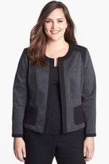 Sejour Mixed Media Jacket - Lyst