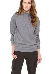 T By Alexander Wang Top Dyed Fleece Hoodie - Lyst
