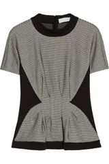 Thakoon Addition Paneled Cotton-blend and Jersey Top - Lyst