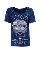 Mango Skull Cotton T-shirt - Lyst