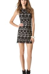 Alice + Olivia Alice Olivia Sleeveless Shift Dress - Lyst